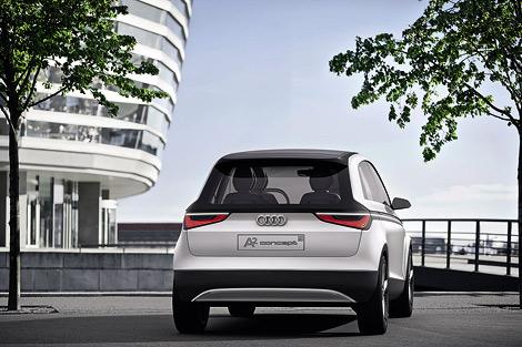 На Франкфуртском автосалоне компания Audi покажет прототип нового A2. Фото 1