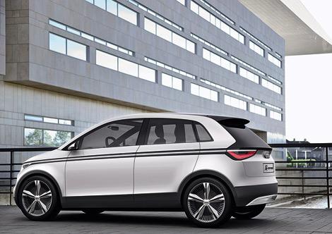 На Франкфуртском автосалоне компания Audi покажет прототип нового A2. Фото 2