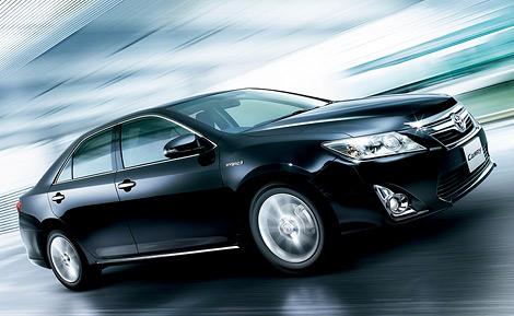 Компания Toyota представила версию модели Camry для японского рынка