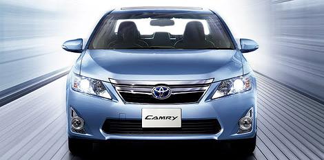 Компания Toyota представила версию модели Camry для японского рынка. Фото 1