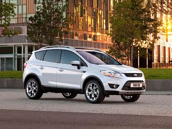 В России начали принимать заказы на новую версию Ford Kuga