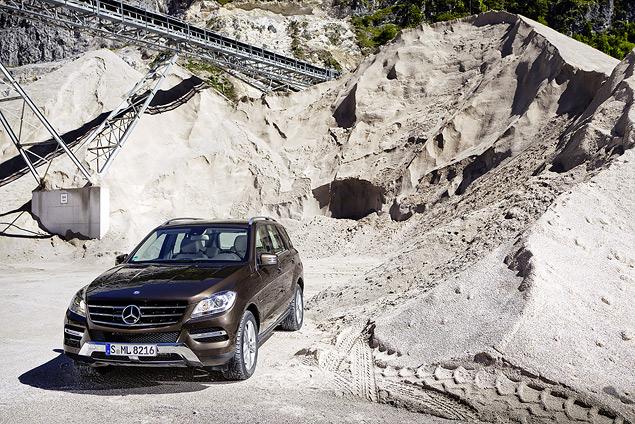Выход на новый уровень с Mercedes‑Benz M-class
