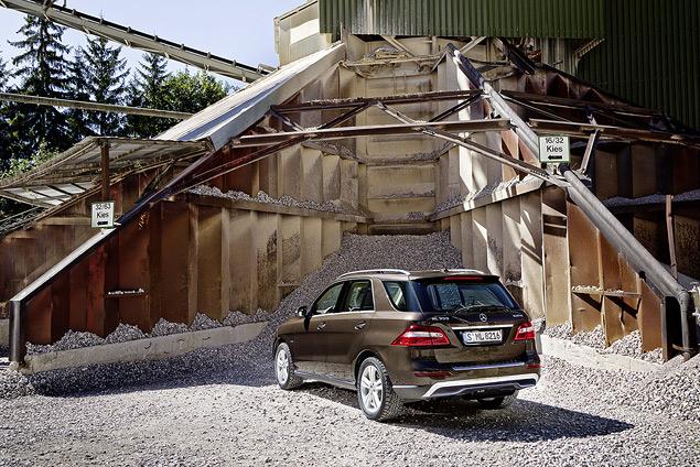 Выход на новый уровень с Mercedes‑Benz M-class. Фото 1