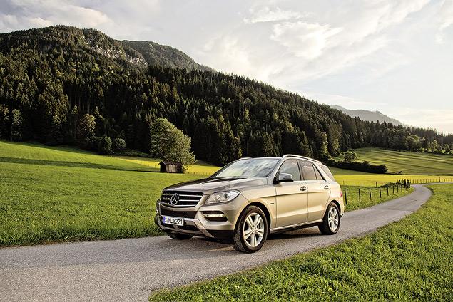 Выход на новый уровень с Mercedes‑Benz M-class. Фото 3