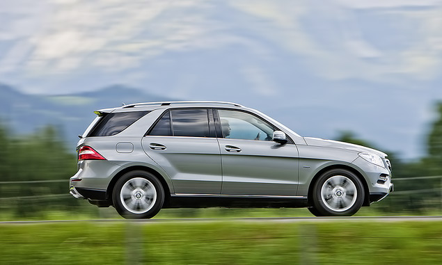 Выход на новый уровень с Mercedes‑Benz M-class. Фото 5