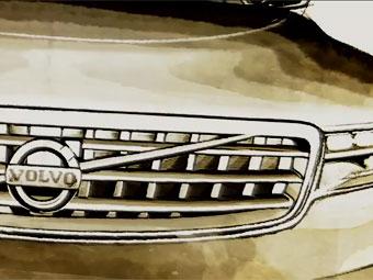 Появился первый тизер концепт-кара Volvo для Франкфурта