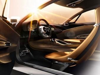 Компания Kia опубликовала снимки интерьера концептуального купе