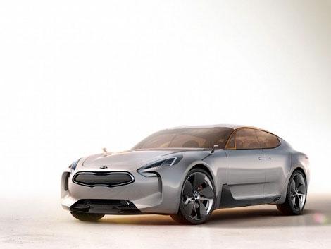 Появились новые изображения заднеприводного автомобиля Kia GT. Фото 2