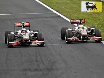 Пилоты McLaren доминировали на свободных заездах Гран-при Италии