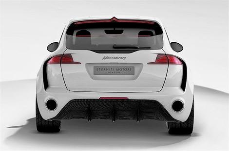 Компания Eterniti Motors показала внедорожник под названием Hemera. Фото 1