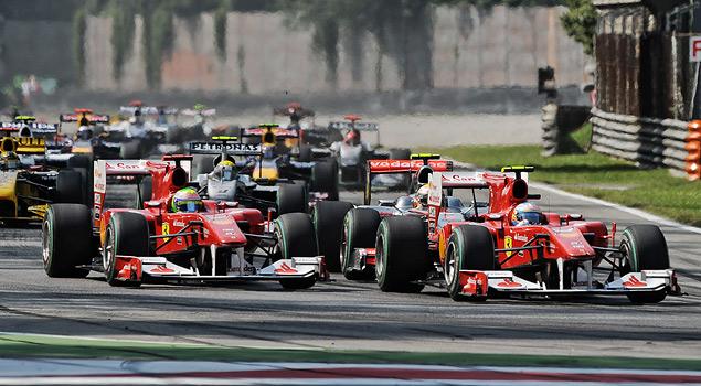 Гран-при Италии в Монце и другие гонки уик-энда