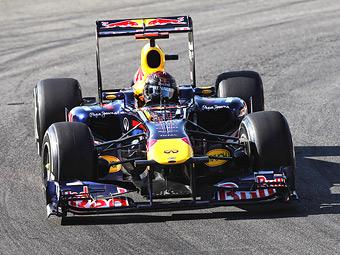 Феттель показал лучшее время во второй тренировке Гран-при Италии
