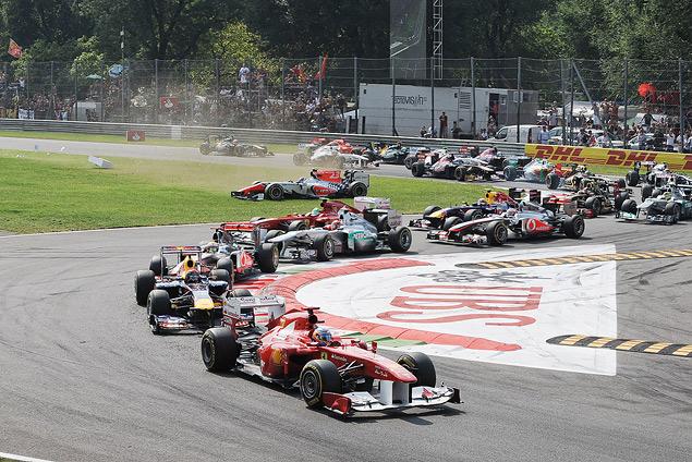 Себастьян Феттель выиграл Гран-при Италии. Фото 1