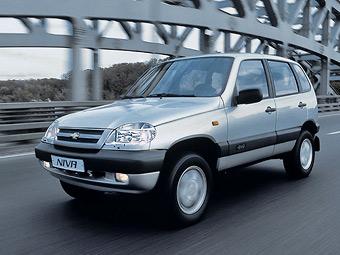 Выпуск внедорожников Chevrolet Niva вырос в полтора раза