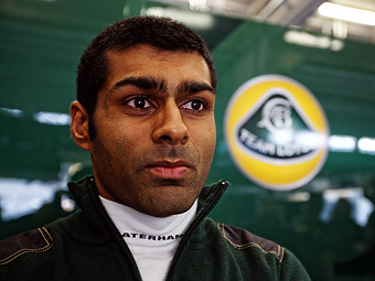 На Гран-при Индии Team Lotus заменит Трулли на Чандхока