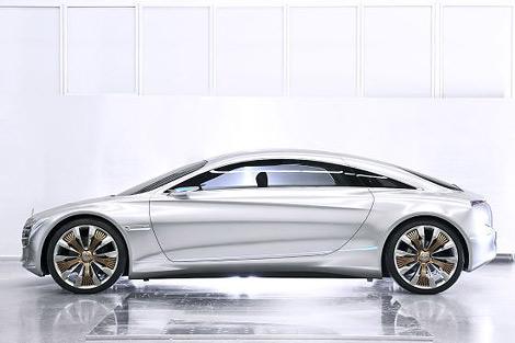 На моторшоу во Франкфурте состоится премьера концепт-кара Mercedes-Benz