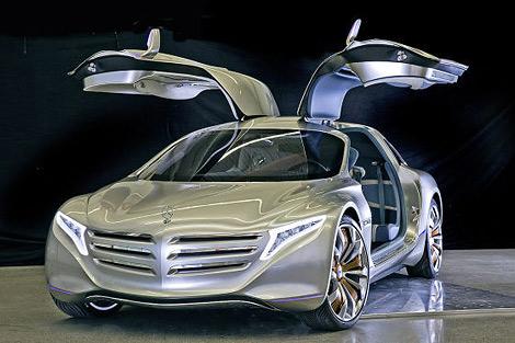 На моторшоу во Франкфурте состоится премьера концепт-кара Mercedes-Benz. Фото 1