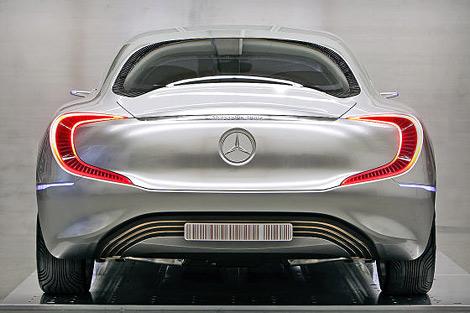 На моторшоу во Франкфурте состоится премьера концепт-кара Mercedes-Benz. Фото 2