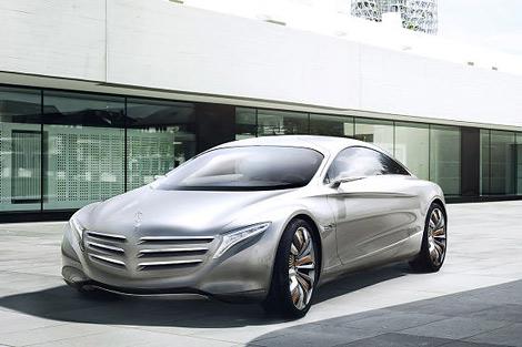 На моторшоу во Франкфурте состоится премьера концепт-кара Mercedes-Benz. Фото 3