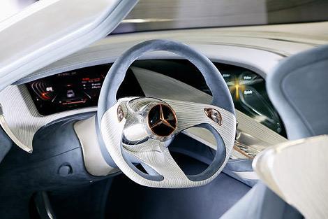 На моторшоу во Франкфурте состоится премьера концепт-кара Mercedes-Benz. Фото 4