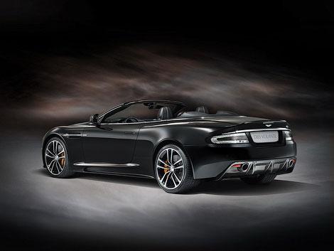 Aston Martin представит во Франкфурте спецверсию купе и кабриолета DBS