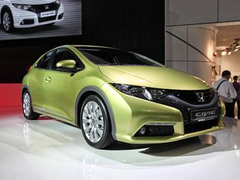 Новый Honda Civic представили официально