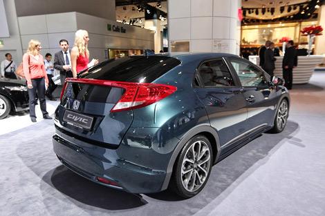 Во Франкфурте дебютировал хэтчбек Honda Civic нового поколения