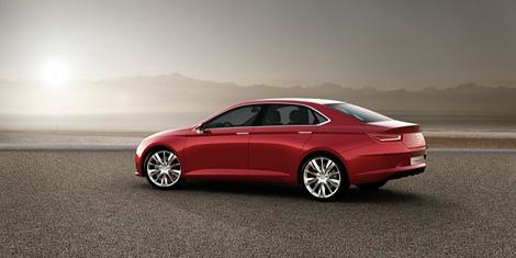 Компания Seat представила прототип седана с гибридной силовой установкой