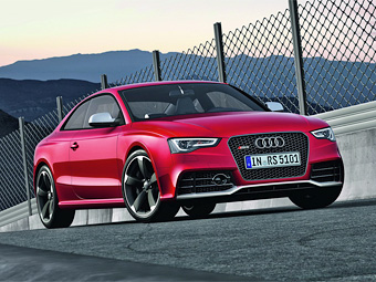 Audi представила во Франкфурте обновленное купе RS5