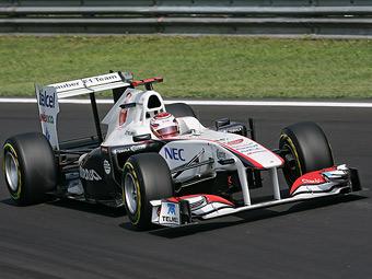 Двойной сход Sauber в Италии был вызван поломкой трансмиссии Ferrari