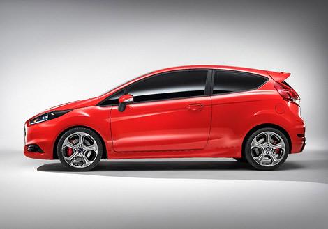 Компания Ford представила 180-сильный хэтчбек Fiesta ST. Фото 1