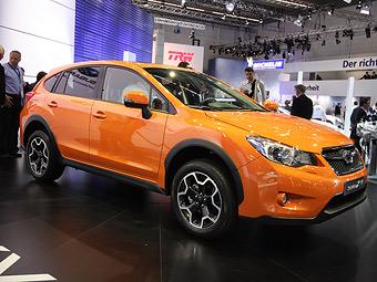 Компания Subaru показала кроссовер на базе «Импрезы»