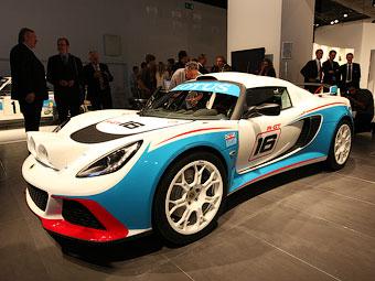Lotus построил раллийный автомобиль на базе Exige