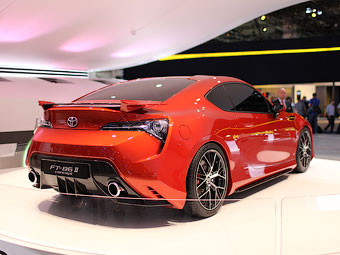 Toyota привезла во Франкфурт новый вариант заднеприводного купе