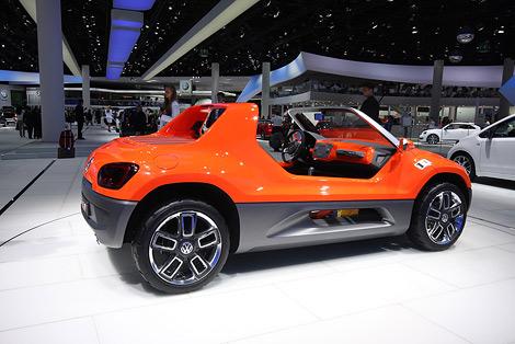 Во Франкфурте показали концепт-кар VW Buggy Up