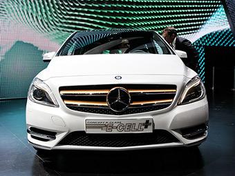 Mercedes-Benz представил электрический B-Class