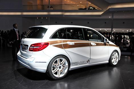 Во Франкфурте показали концептуальную электрическую модификацию нового Mercedes-Benz B-Class