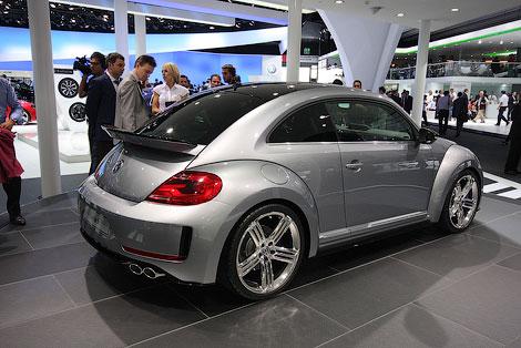 Компани VW рассмотрит возможность запуска в серийное производство концепта Beetle R