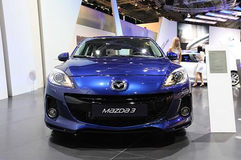 Во Франкфурте представили европейскую версию обновленной Mazda3. Фото 1