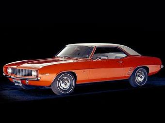 """""""Камаро"""" 1969 года назвали самым лучшим Chevrolet всех времен"""