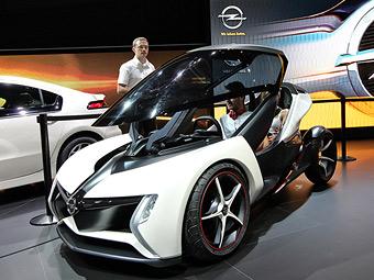 Opel задумался о запуске в серию двухместного электрокара