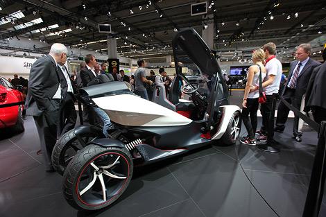 Представленный во Франкфурте прототип Opel RAK e может быть запущен в серийное производство