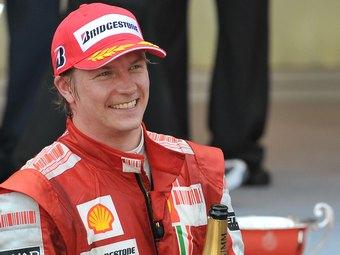 Кими Райкконен посетил базу команды Williams Формулы-1
