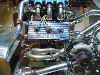 Испытания двигателей PURE для Формулы-1 начнутся летом 2012 года