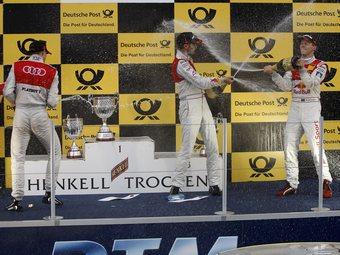 Гонщики Audi заняли весь подиум на седьмом этапе серии DTM