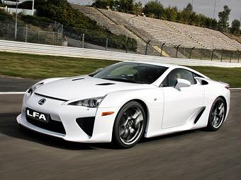 Lexus подготовит к декабрю спецверсию суперкара LFA