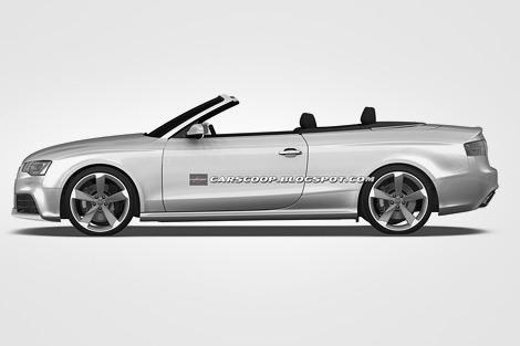 Появились изображения открытой версии Audi RS5. Фото 1