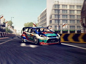 В компьютерном симуляторе WRC можно будет проехать по улицам Берлина