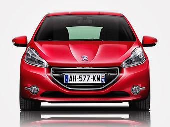 Хэтчбеки Peugeot 208 представят в октябре