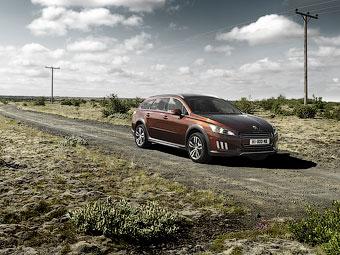 Спецверсию вседорожного универсала Peugeot раскупили за три дня